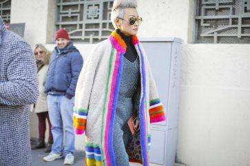 Street Style & Front Row Missoni Menswear F/W 2017 Milan 3