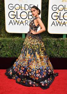 Olivia Culpo in Zuhair Murad Golden Globes 2017