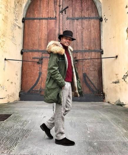 Luca Rubinacci - Street Style - Pitti Uomo 91 - Florence Fall Winter 2017