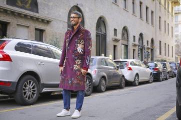 Dolce & Gabbana Fall Winter 2017 - Street style