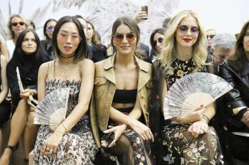 Front Row at Dior - Paris Couture Week F:W17
