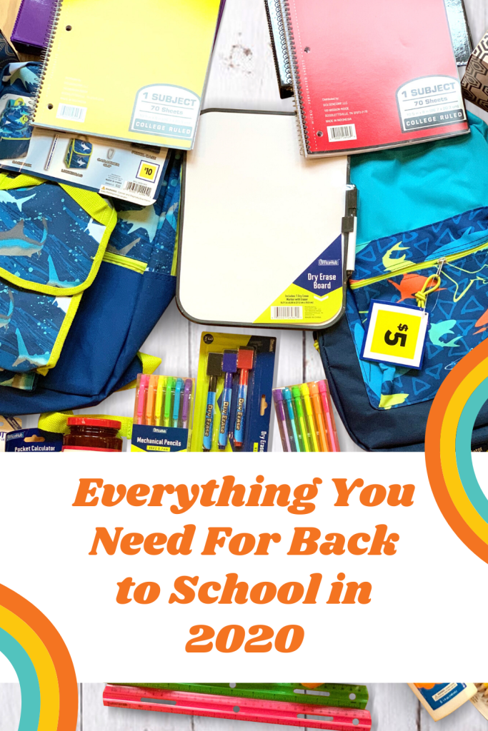 #sponsored Shopping time! @DollarGeneral has everything you need for back to school in 2020 w/ supplies, snacks and packs #DollarGeneral #DollarGeneralFinds