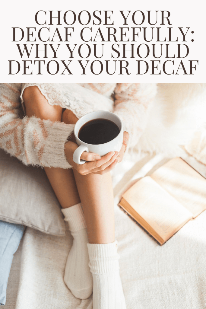 #ad @cleanlabelproject works to raise awareness of potentially dangerous environmental contaminants/oxins in everyday products #DetoxYourDecaf