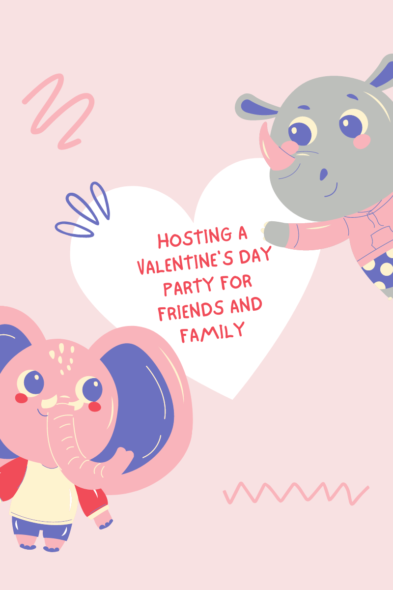 Hosting A Valentine's Day Party for Friends and Family. As soon as you have kids, it's hard to make Valentine's day special and romantic...