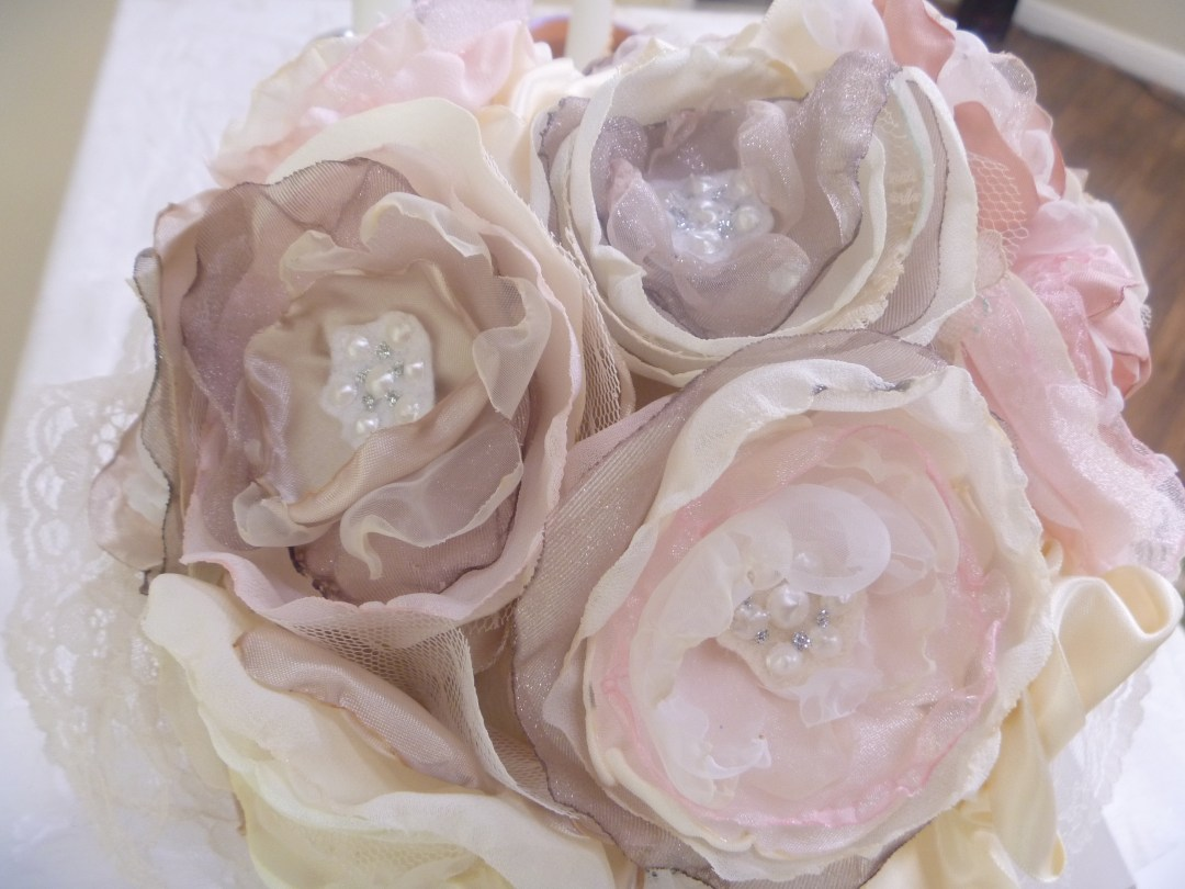 Fabric Flowers DIY