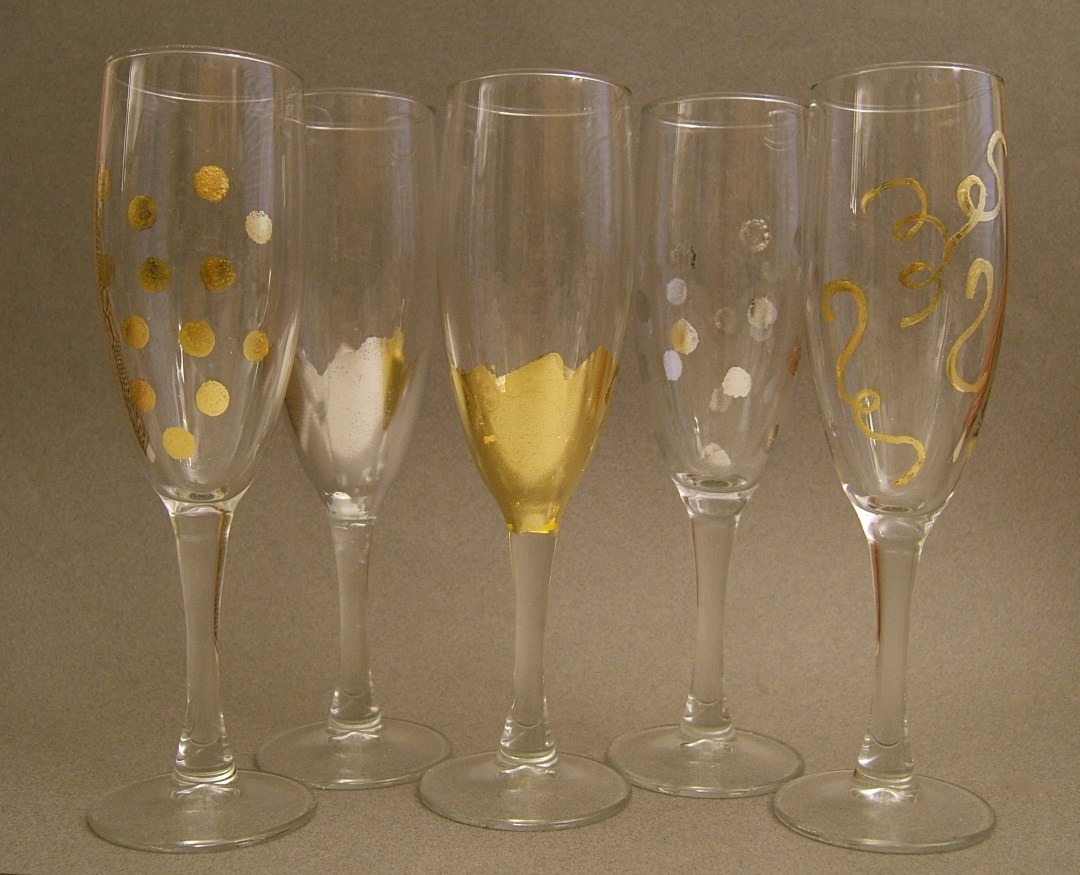 DIY Champagne Flutes
