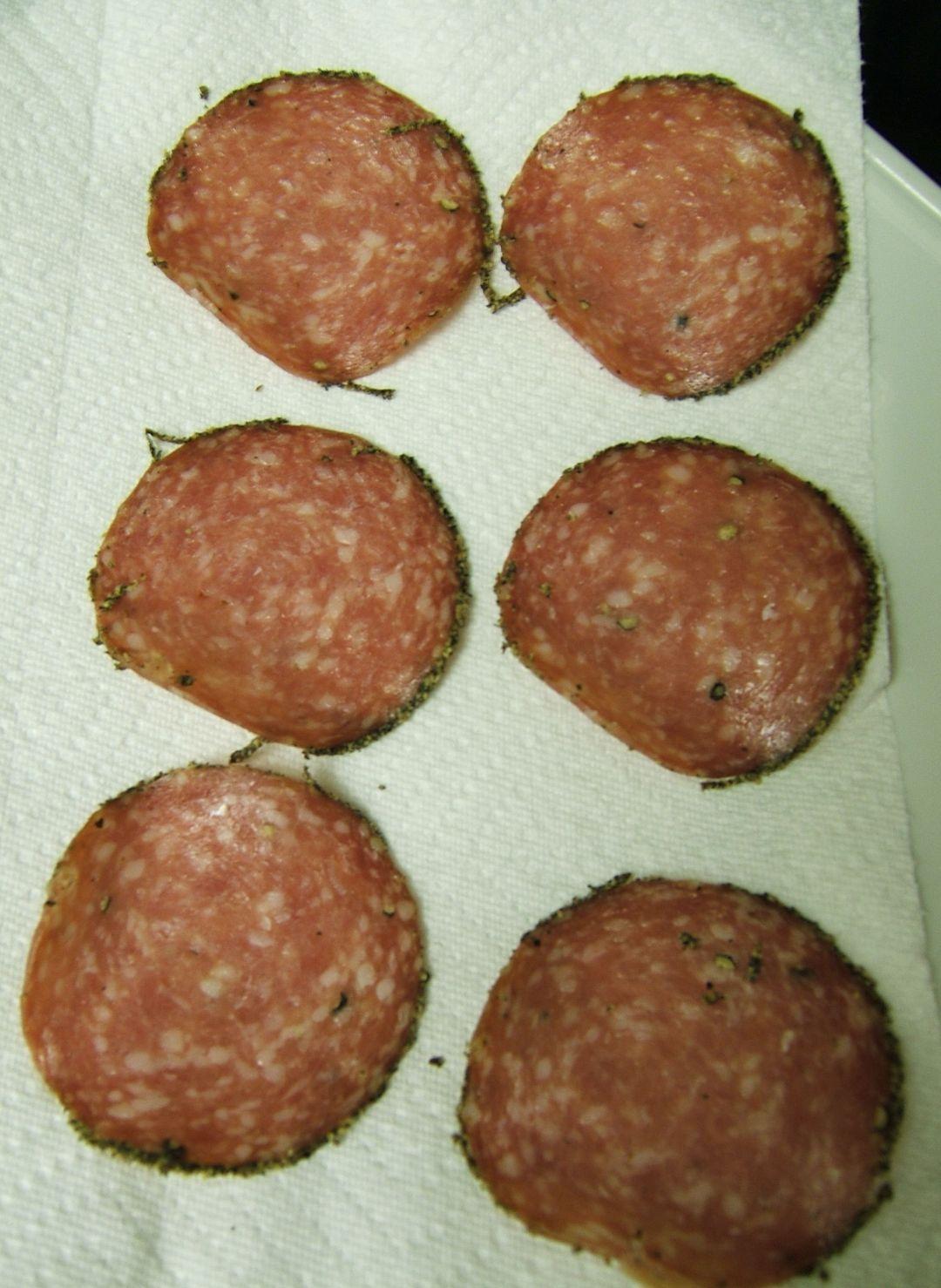 Microwave process, Baked Salami!