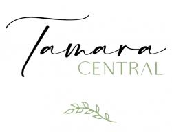 Tamara Central Logo with Leaf