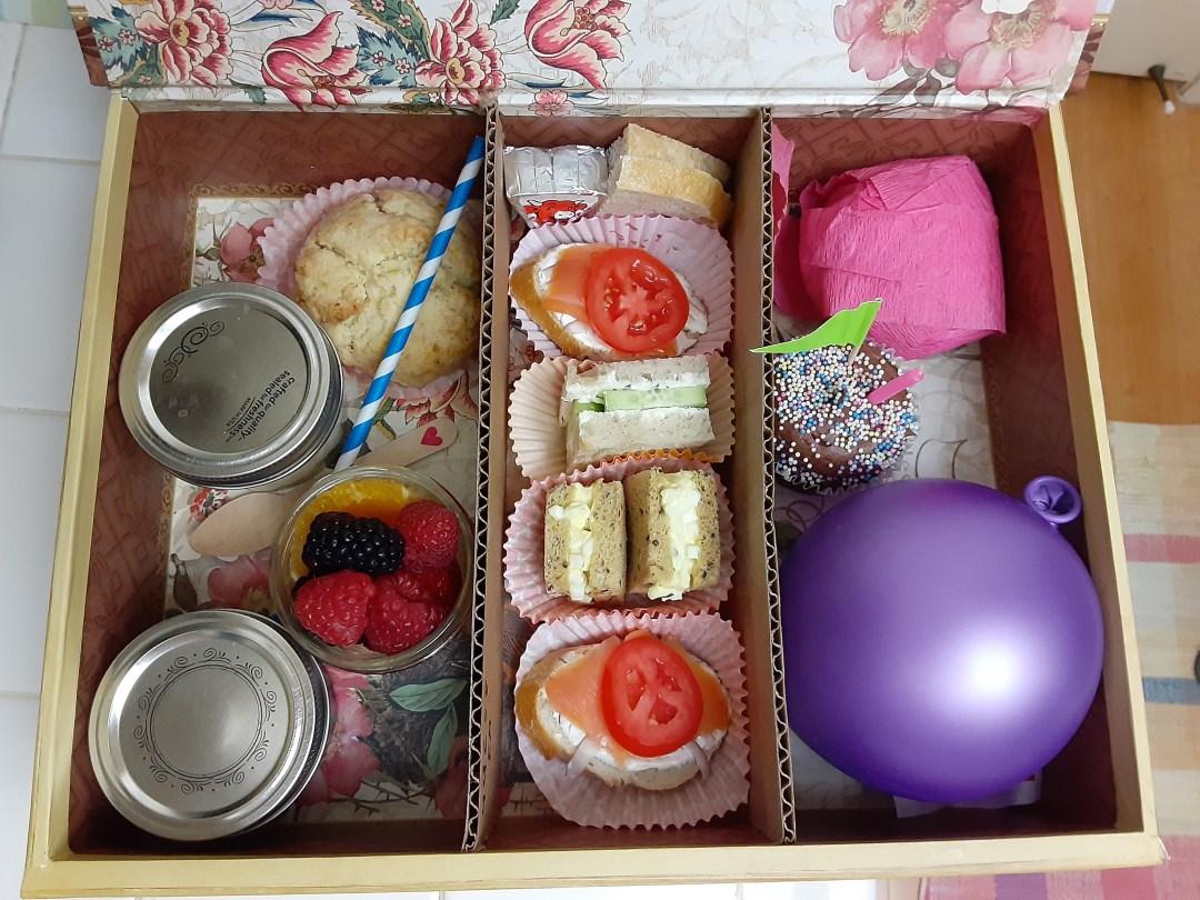 Tea in a Box, Tamara Central