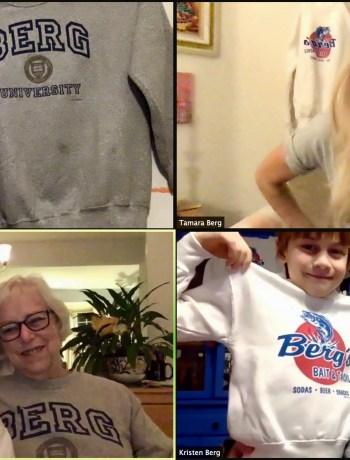 Berg Family Zooms