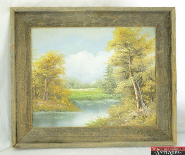 Original Oil Painting - Artist Delino Pasture