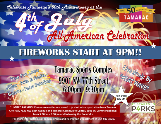 4th of July Flyer 2013
