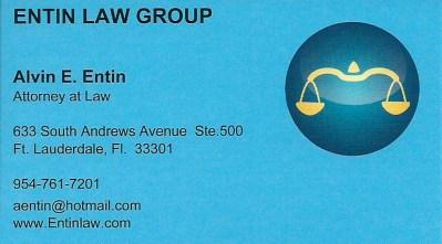 Alvin Entin – Criminal Defense Attorney