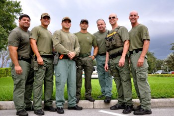 BSO's SWAT and K9 Team in Tamarac