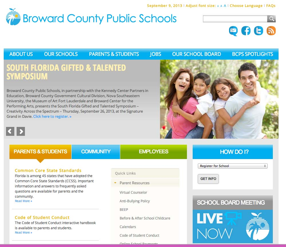 Online School Payments (OSP) portal is a service provided to parents to facilitate payment for school fees for a variety of products and services. Broward County Public Schools Home.