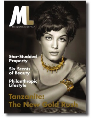 Rankin never mentions his military service in his pretentious profile in Millionaire Lifestyle Magazine