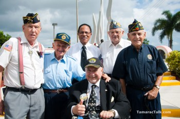 Members of the Tamarac Veterans Affairs Committee