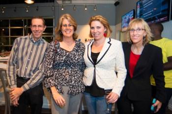 Tamarac Talk contest winners Craig Bresnahan and Lauren Feher,