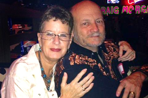 Jeanne and Gary Megel at a Yelp event.