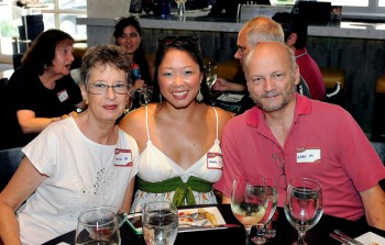 Jeanne and Gary along with their daughter Katie who is also part of Yelp's Elite Squad