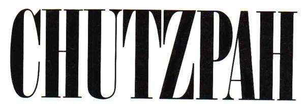 Chutzpah-title