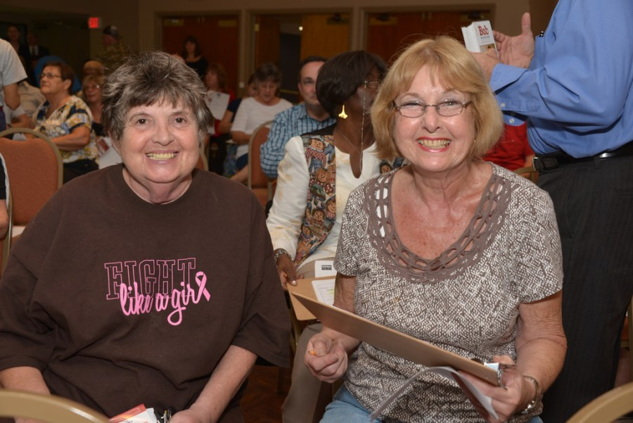 Residents from Tamarac's District Two attend the Neighborhood meeting in 2014