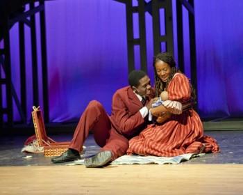 Dashawn Perry and Leanne Antonio - Broadway Future Stars Award Nominees as Coalhouse and Sarah. Photo courtesy Ian Ibbetson