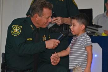 Sheriff Scott Israel and Alejandro