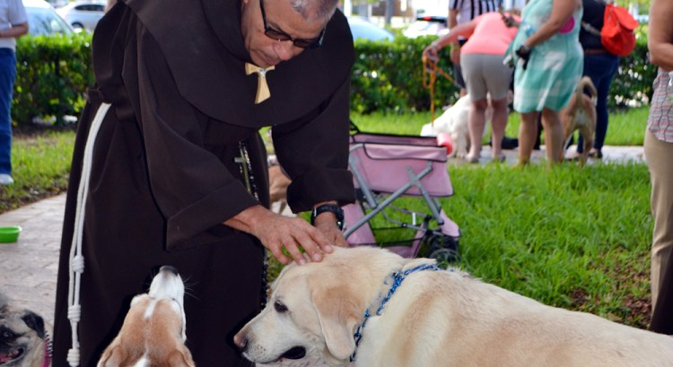 Humane Society of Broward County Holds 'Blessing of the Animals'