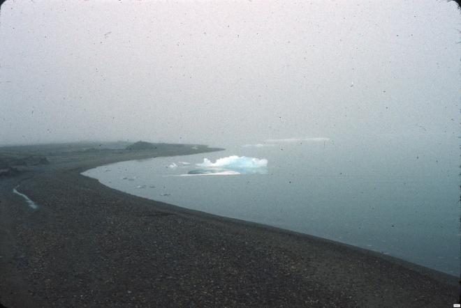 Cooper Island, Alaska, ice floes
