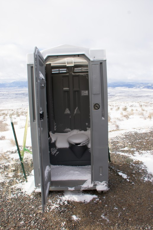 outhouse cold seat