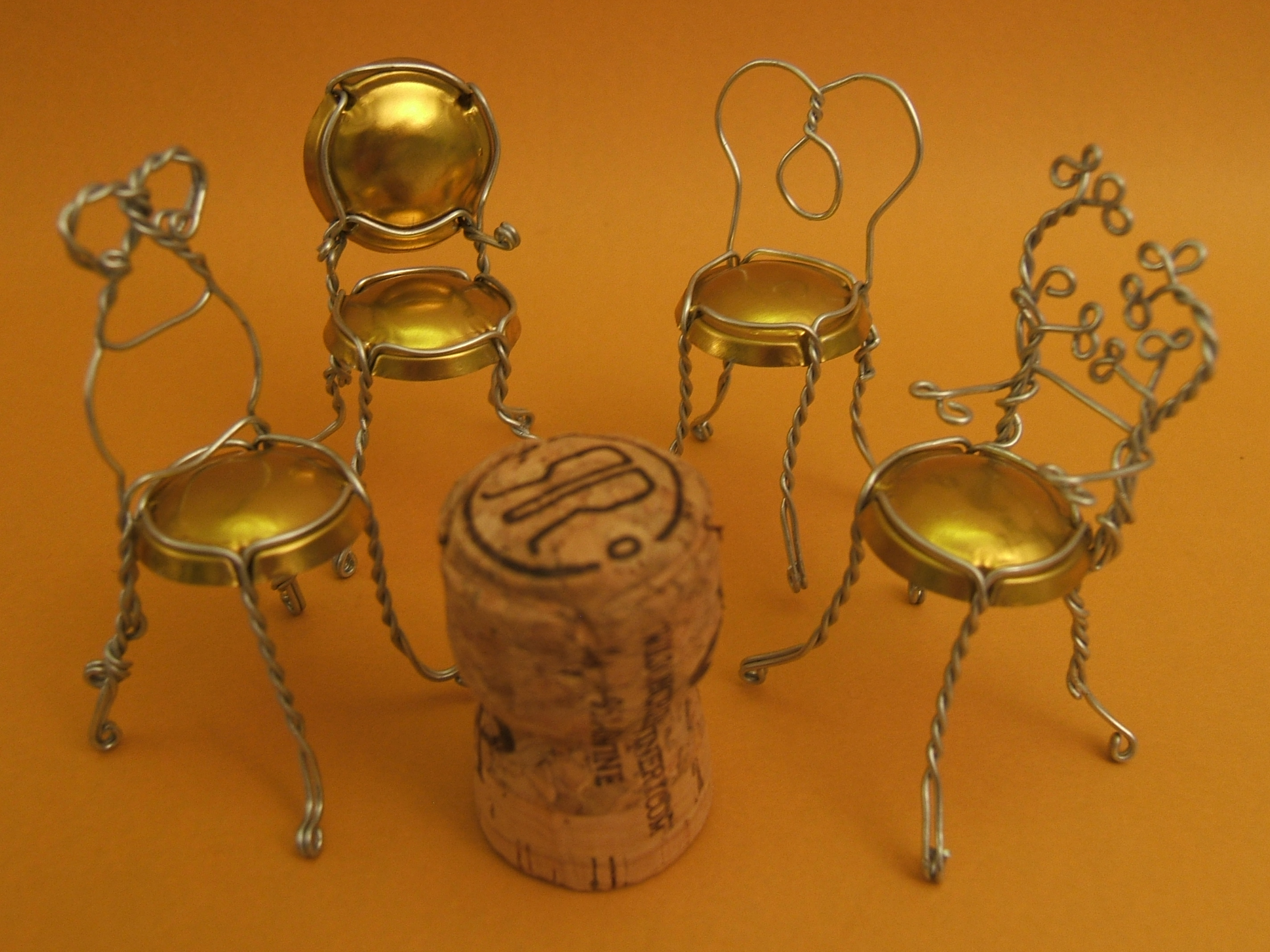 Champagne Chair Champagne Cage Chairs Redux Musings On Muselets The
