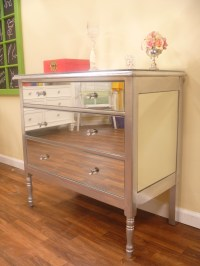 DIY Mirrored Dresser   The Tamara Blog...