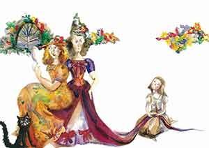 Watercolor Cinderella