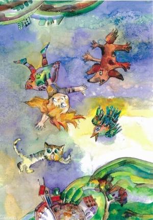 Alice   Watercolor