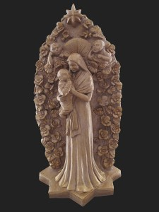 Maria e Jesus frente