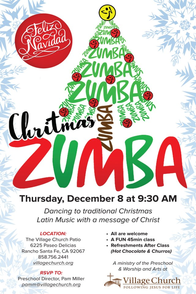 2016_tamara-rodriguez_christmas-zumba_village-church_rancho-santa-fe-ca