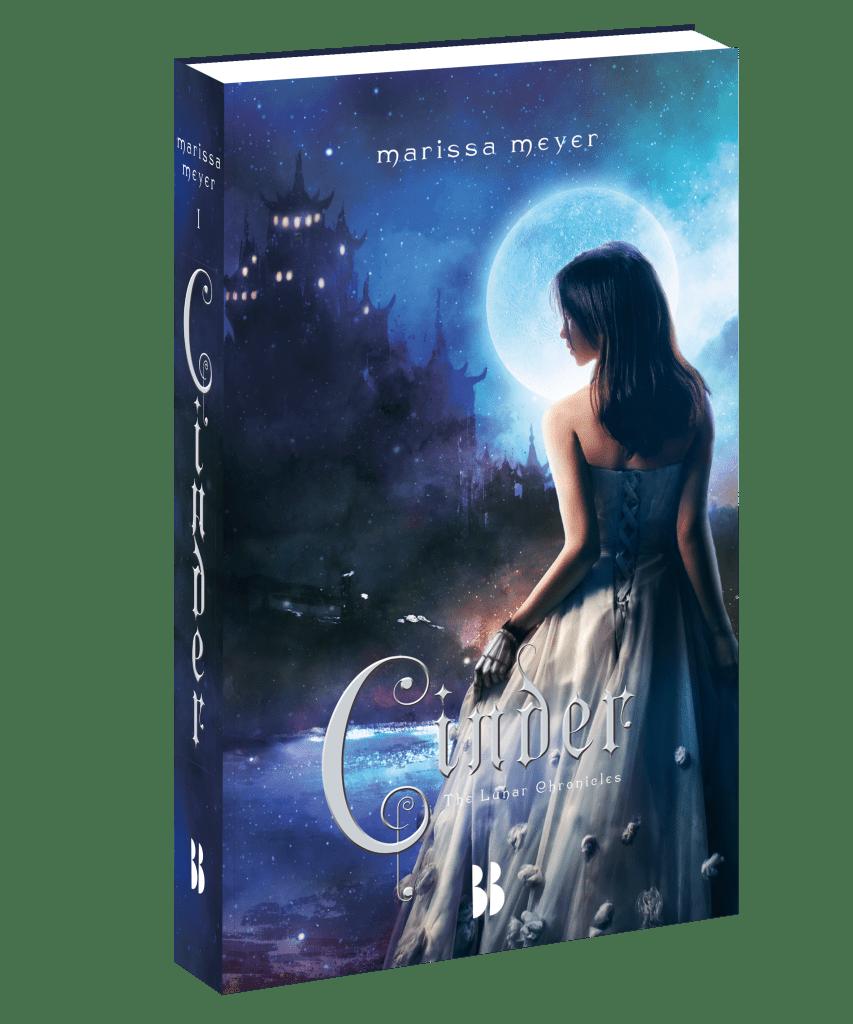 The Lunar Chronicles, Cinder, Marissa Meyer, bookcover, book cover, Blossom Books