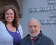Tamara with Robert Reich in Berkeley, CA 12/10/2013