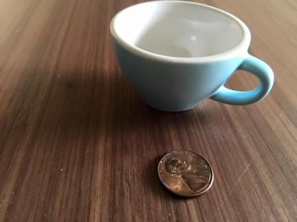 Ikea Child's Teacup in Blue,Non-Detect (Negative) for Lead.