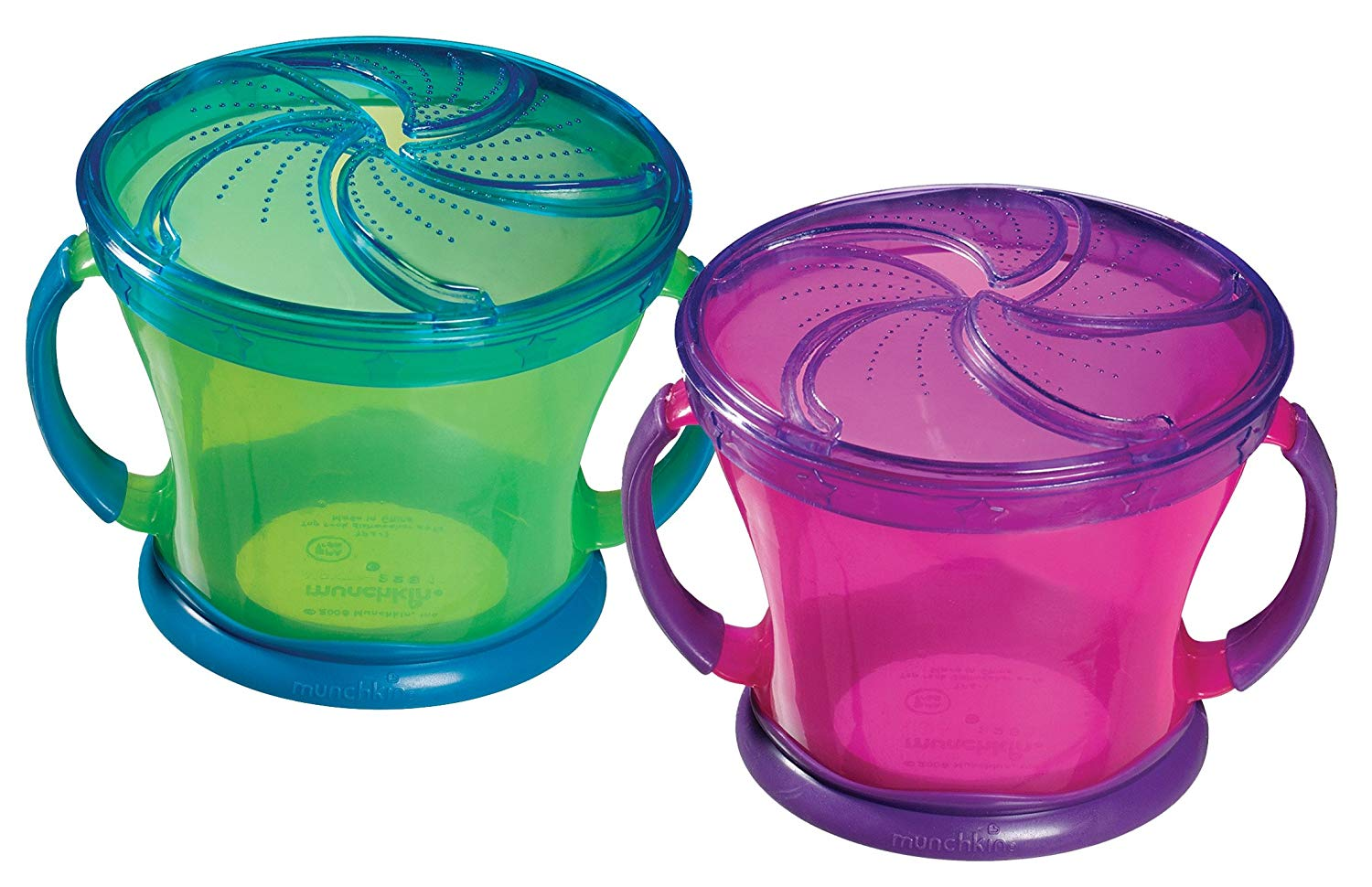 Munchkin Brand Plastic Snack Cup: Negative (Non-Detect) for Lead, Mercury, Cadmium & Arsenic.