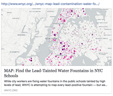 Map Find The LeadTainted Water Fountains In NYC Schools Tamara Rubin - Easy map of nyc