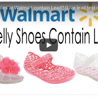Do Walmart Jelly Shoes Have Lead