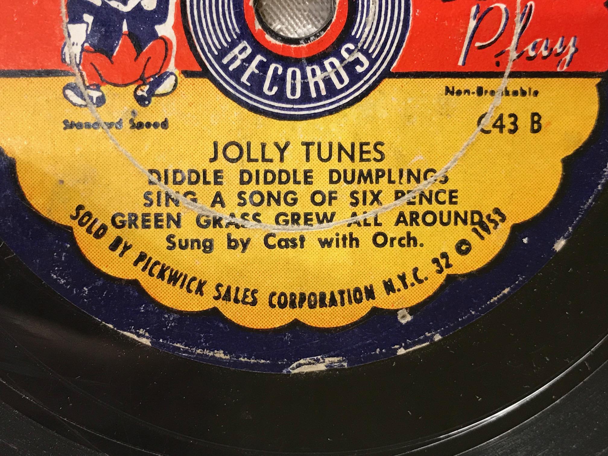 "1953 Cricket Records ""Jolly Tunes"": Cadmium (Cd): 192 ppm, Mercury (Hg): 22 ppm!!"