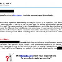 Mercola_Response
