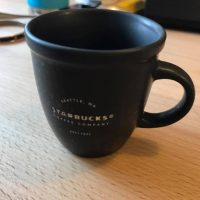 2016 Black Starbucks Coffee Company Mug