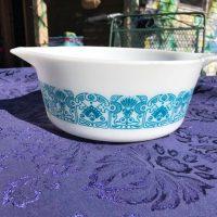 Horizon Blue Vintage Pyrex Casserole Tamara Rubin Lead Safe Mama 3