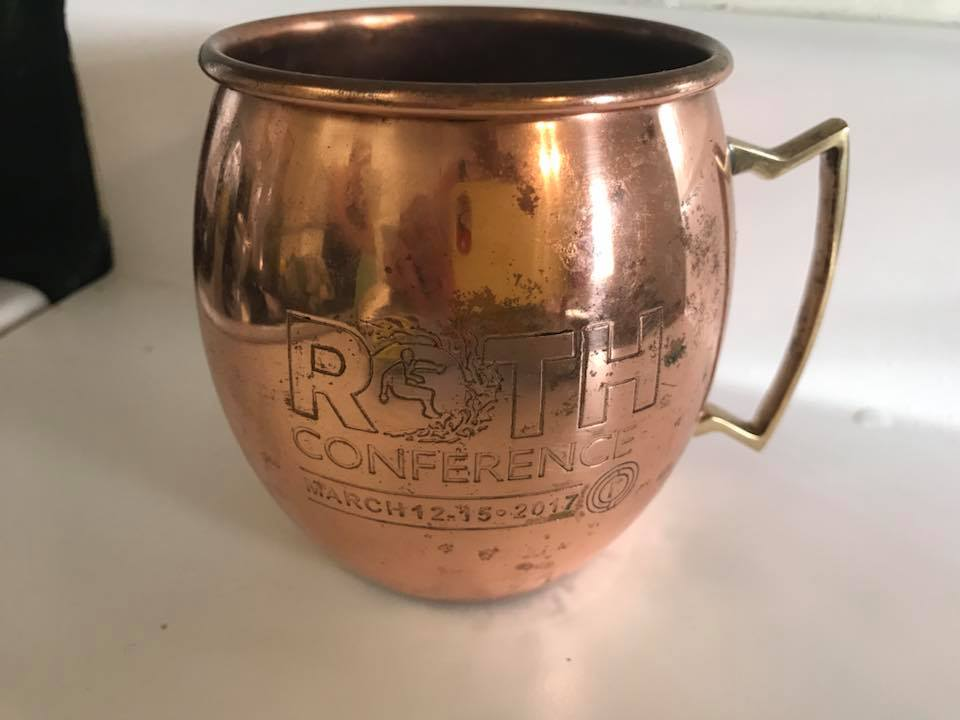2017 Moscow Mule Copper Mug With Leaded Brass Handle