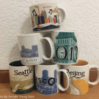 Starbucks Coffee Company Collectible City Mugs