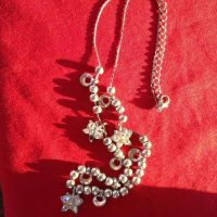 childs crystal necklace